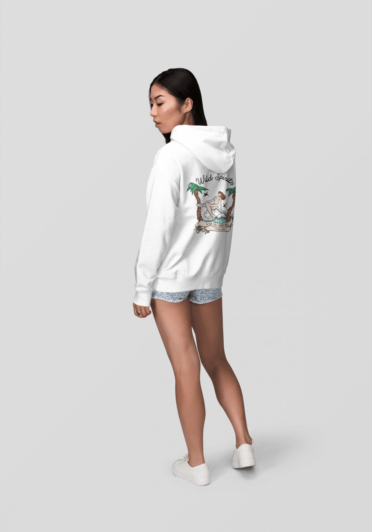 hoodie surf en coton biologique