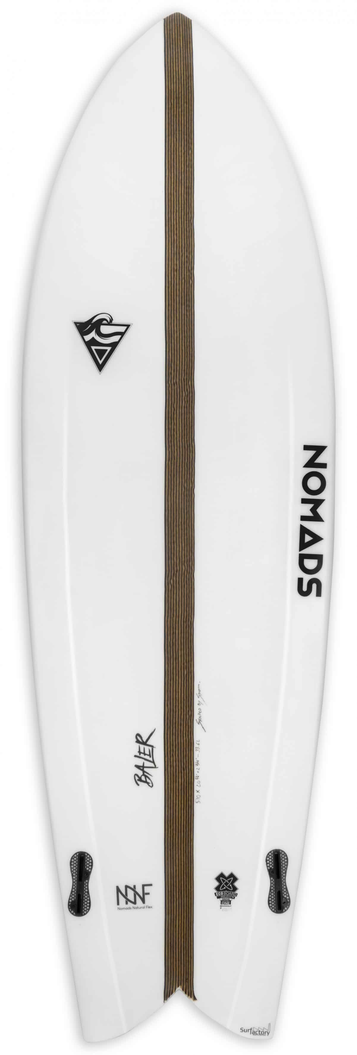 planche surf nomads fish