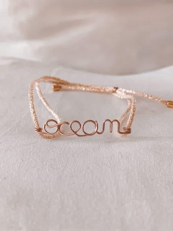 Bracelet ocean gold filled