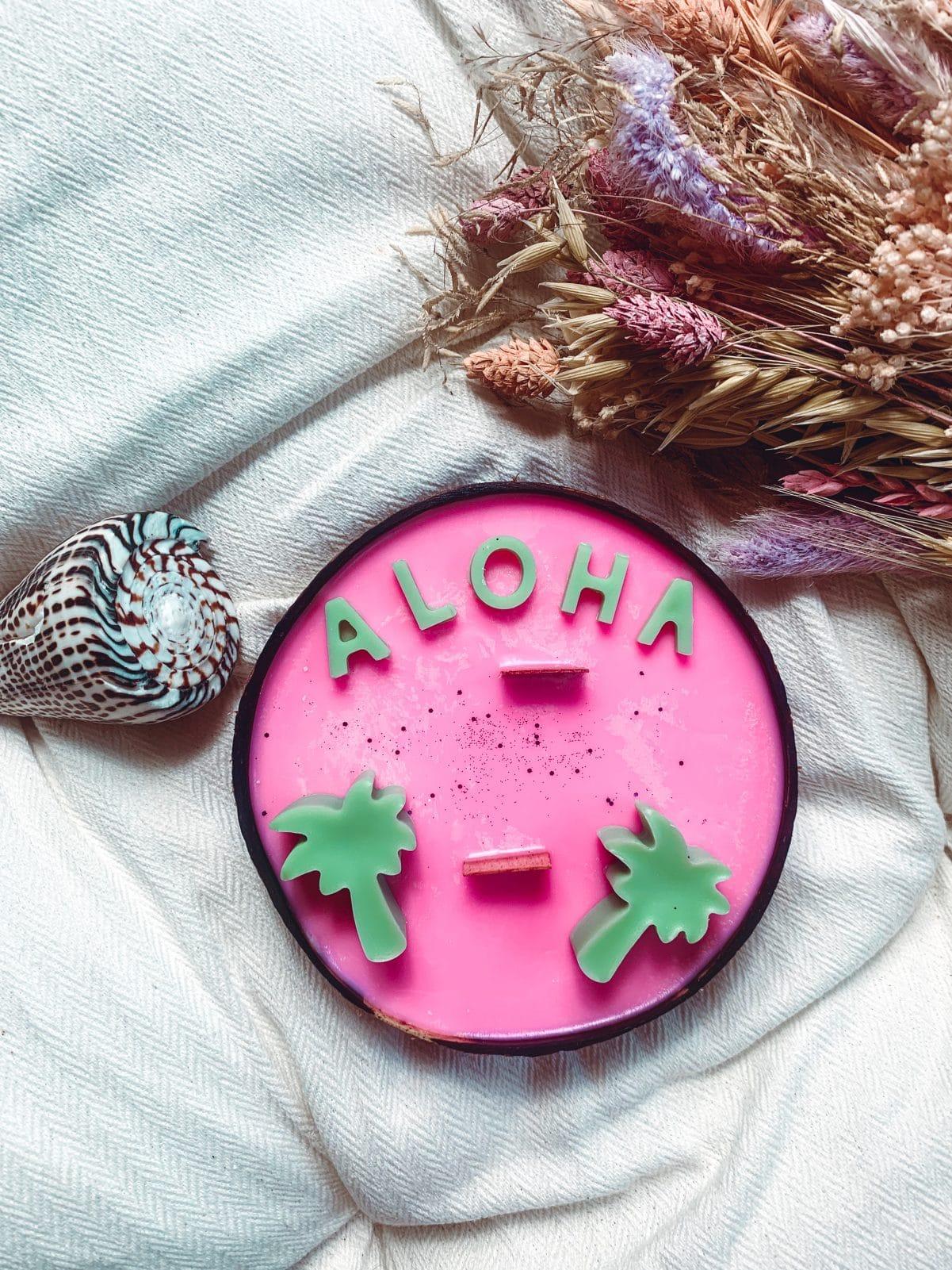 bougie aloha vegetale